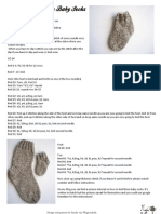 Baby Stockinette Socks