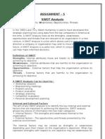 8 Swot Analysis