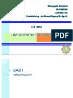Referat Limfadenitis Submandibula-puput