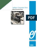 Elliott Turbine-generator Configurations