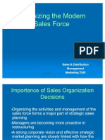 Organizing the Modern Sales Force-Chapter 4