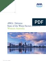2011 Deloitte WA Water Sector 2010 2015