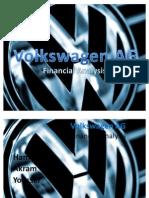 Volkswgen AG Financial Analysis