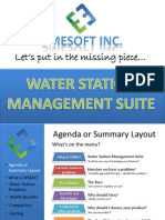 Water Station Management Suite