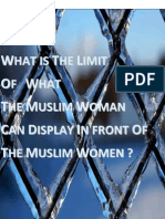 What is the Limit of What the Muslim Woman Can Display in Front of the Muslim Women - Various Scholars - Compiled by www.almuflihoon.com