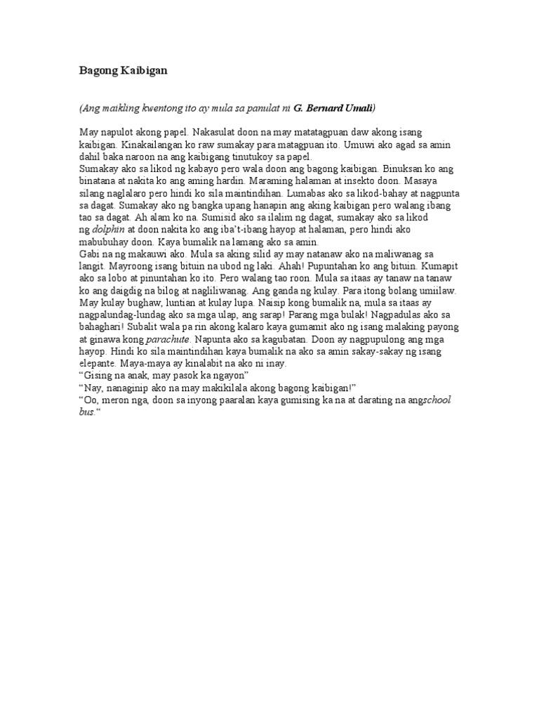 maikling kwento sa panulat ni rizal Si jose rizal ay isinilang noong hunyo 19, 1861 sa calamba laguna ikapito siya sa labing-isang magkakapatid ang mga magulang niya sina francisco.