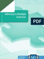 CMSC Whitepaper Advocacy in MS