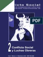 Conflicto Social, nº 02, diciembre 2009 - Luchas obreras