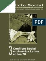 Conflicto Social, nº 03, junio 2010 - América Latina en los 70