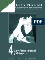 Conflicto Social, nº 04, diciembre 2010 - Conflicto social y género