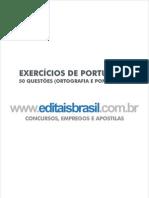 Exercícios de Português - Ortografia e Pontuação