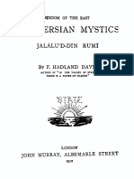 The Persian Mystics - Rumi - Davis Hadland