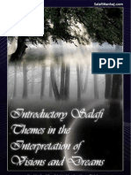 Introductory Salafi Themes in the Interpretation of Visions & Dreams by Shaikhs Mashhoor bin Hasan Al Salman & Abu Talhah 'Umar Al 'AbdurRahman
