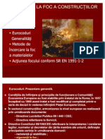 Curs XI+XII Eurocoduri Incercari La Foc