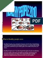 Presentation Healthy People 2010