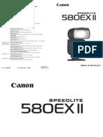 Manual Flash 580ex II