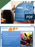 AER Module 3 - Academic Volume Licensing-LATAM