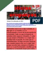 Noticias uruguayas sábado 31 de diciembre de 2012