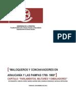 Maloqueros y Conchavadores. Grupo Cofré, Díaz, González y Sepúveda