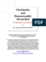 Christianity and Homosexuality Reconciled