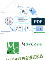 Marcom Soluzioni Gateway Fieldbus
