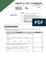 MHF4U - Polynomial Test