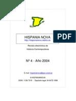 Hispania Nova, nº 04, 2004 - Dictadura, dictaduras