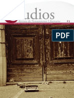 Estudios. Revista de pensamiento libertario, nº 01, 2011