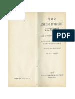 Prakse starého Tureckého zednářství. Klíč k pochopení alchymie (1925)