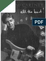 Paul McCartney - All the Best