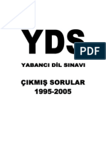 YDS SORULARI