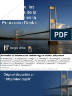 Potencial de Las TIC en Education Dental