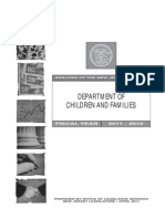 Analysis of NJ Budget, DYFS/DCF, Office of Legislative Services, April 2011.