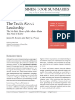 BBS the Truth About Leadership