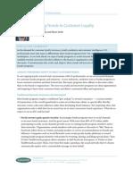Emerging Trends in Customer Loyalty
