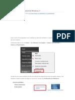 Cómo cambiar el Serial de Windows 7