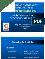 ANÁLISIS SÍSMICO DE EDIFICACIONES