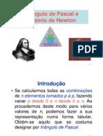 Triângulo de Pascal e Binómio de Newton