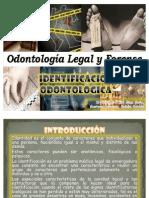 identificacion odontologica