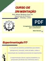 CURSO DE EXPERIMENTAÇÃO 2