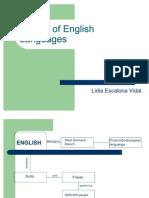 Origin of english language