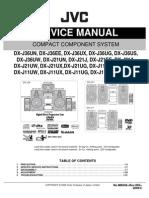 JVC DX-J11,DX-J21,DX-J36 Manual de Servicio