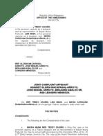 NBN-ZTE Plunder complaint vs. Arroyo, et. al.