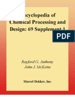 2c07de0a08 Encyclopedia of Chemical Processing and Design. 69 Supplement 1 ...