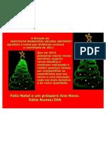 Mensagem Natal IHA