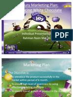 Cadbury Marketing Plan