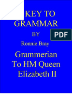Key to Grammar