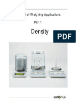 BRO Density Determination Manual e