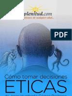 Como Tomar Decisiones Eticas
