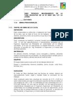 Especificaciones Tecnicas i.e. 30027